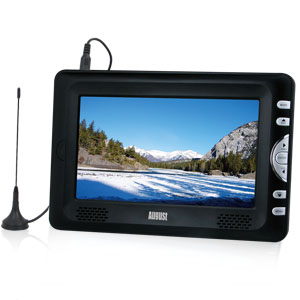 August Portable Freeeview TV DTV705