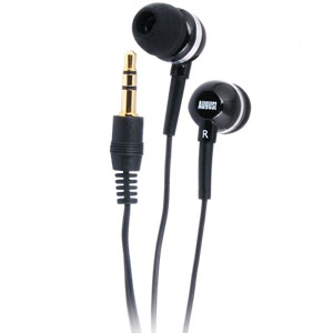 August EP510B Stereo Earphones